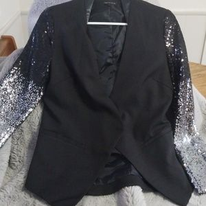 Sequin blazer